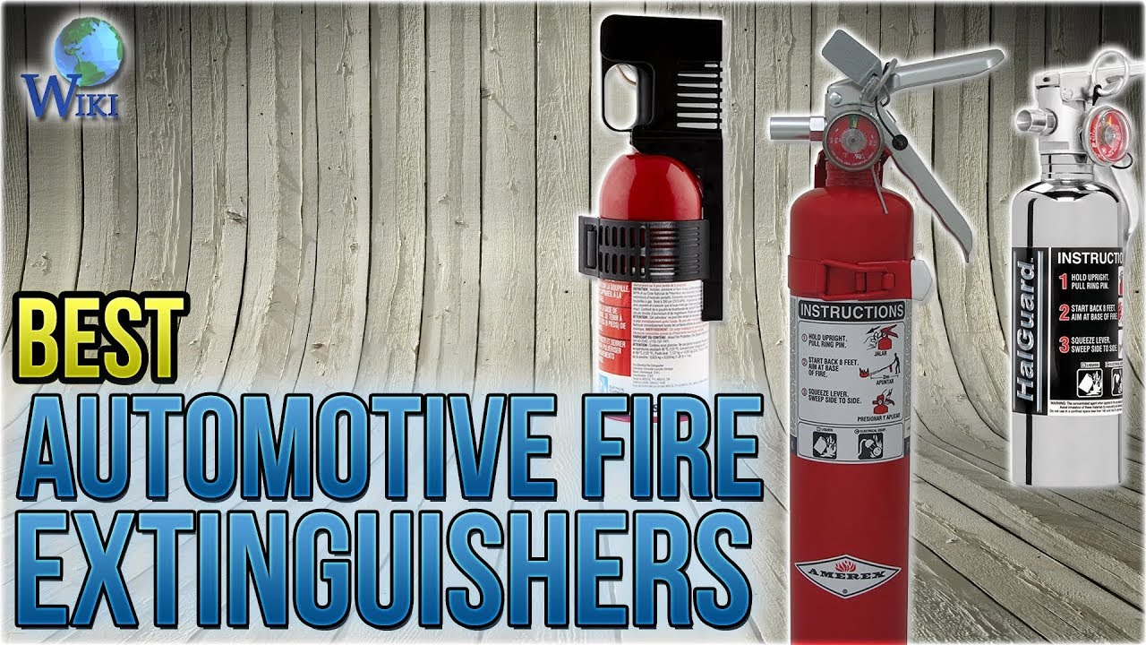 Automotive Fire Extinguisher >> Top 7 Automotive Fire Extinguishers Of 2019 Video Review