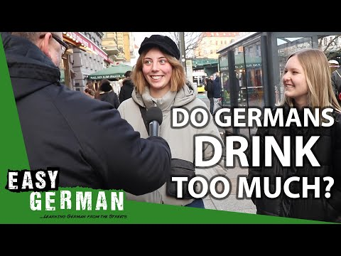 Do Germans drink too much? | Easy German 331