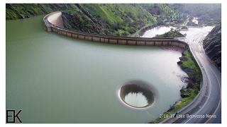 Copy of Overflowing Glory Hole Spillway at Lake Berryessa Drone Report - Lake Berryessa News 2-18-17