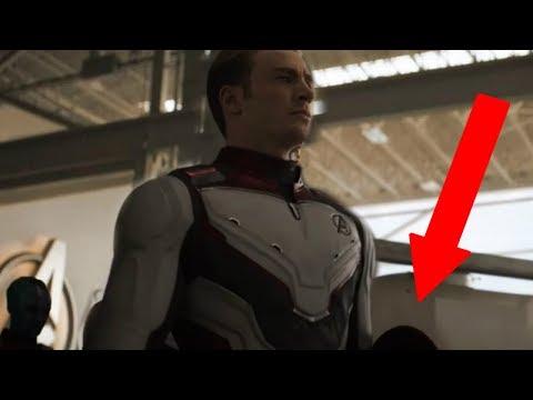 Captain America's NEW SHIELD In Avengers Endgame