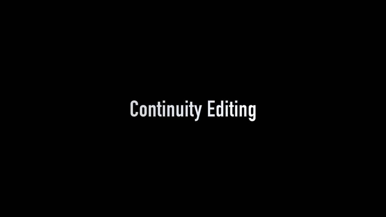 continuity editing shot reverse shot