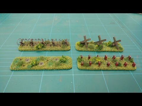 Let's Make - Infantry Obstacles (Battlefield Basics Series)
