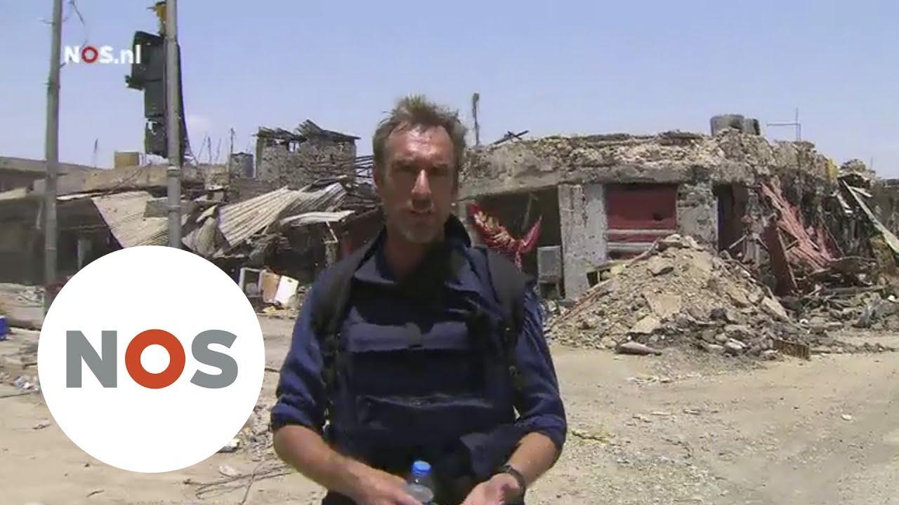 Marcel Van Der Steen.Mosul Correspondent Marcel Van Der Steen Laat De Verwoesting Zien