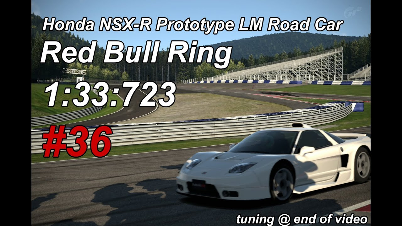 Gt6 1 33 732 Red Bull Ring Honda Nsx R Prototype Lm