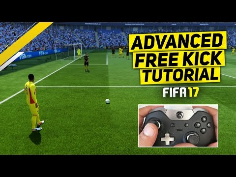 HOW TO SCORE FREE KICKS FROM IMPOSSIBLE ANGLES / POSITIONS - FIFA 17 TUTORIAL / TIPS & TRICKS