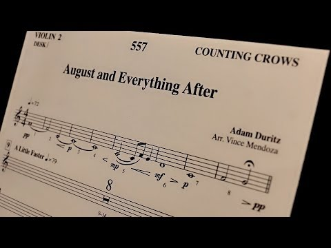 Смотреть клип Counting Crows - August And Everything After