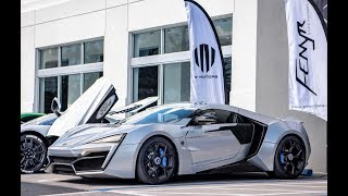 $1.6 Million Fenyr Supersport and Lykan Hypersport Interior Exterior Drive at Exotics and Espresso