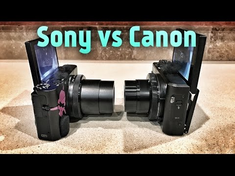 BEST Vlogging Cam? RX100V vs Canon G7X II (Which sucks less?)