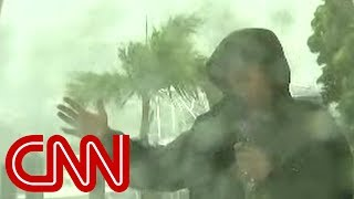 Reporter on Irma  It feels like my face is being power washed
