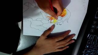 Anime Hair Colouring
