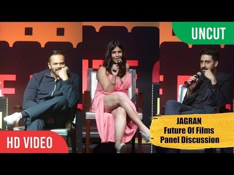 JAGRAN Cinema Summit | Future Of Films Panel Discussion | Abhishek Bachchan, Rohit Shetty, Ekta
