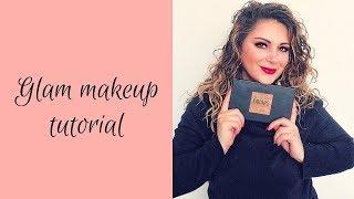 Glam makeup tutorial| 2