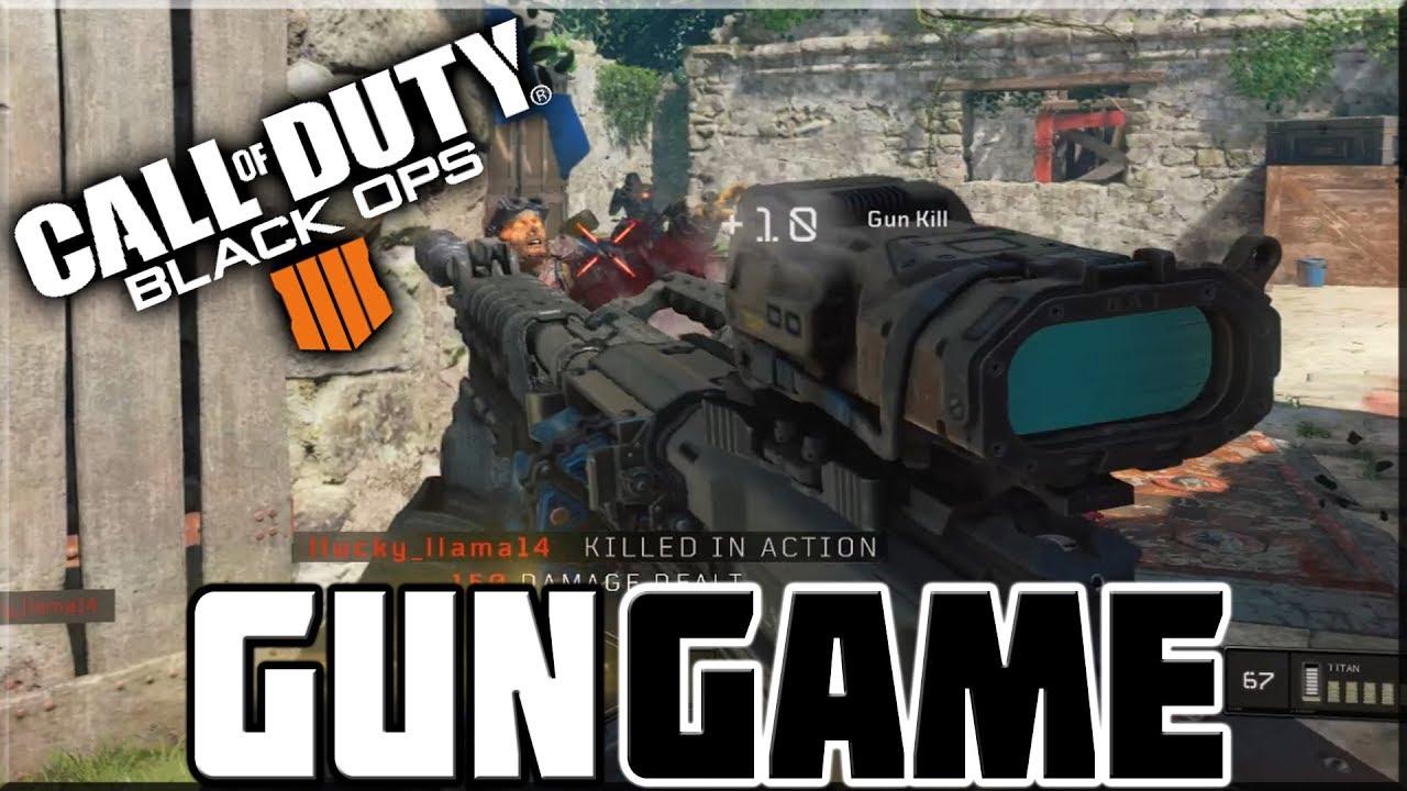 Gun Game On Black Ops 4 Youtube