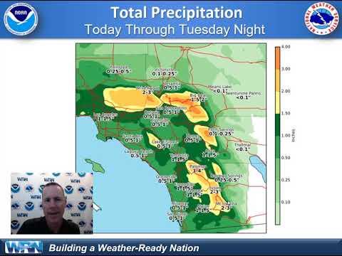 NWS San Diego Weather Briefing - Feb. 4, 2019