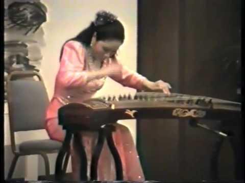古筝曲高山流水- 朱小萌中国传统古筝音乐chinese guzheng zhuxiaomeng