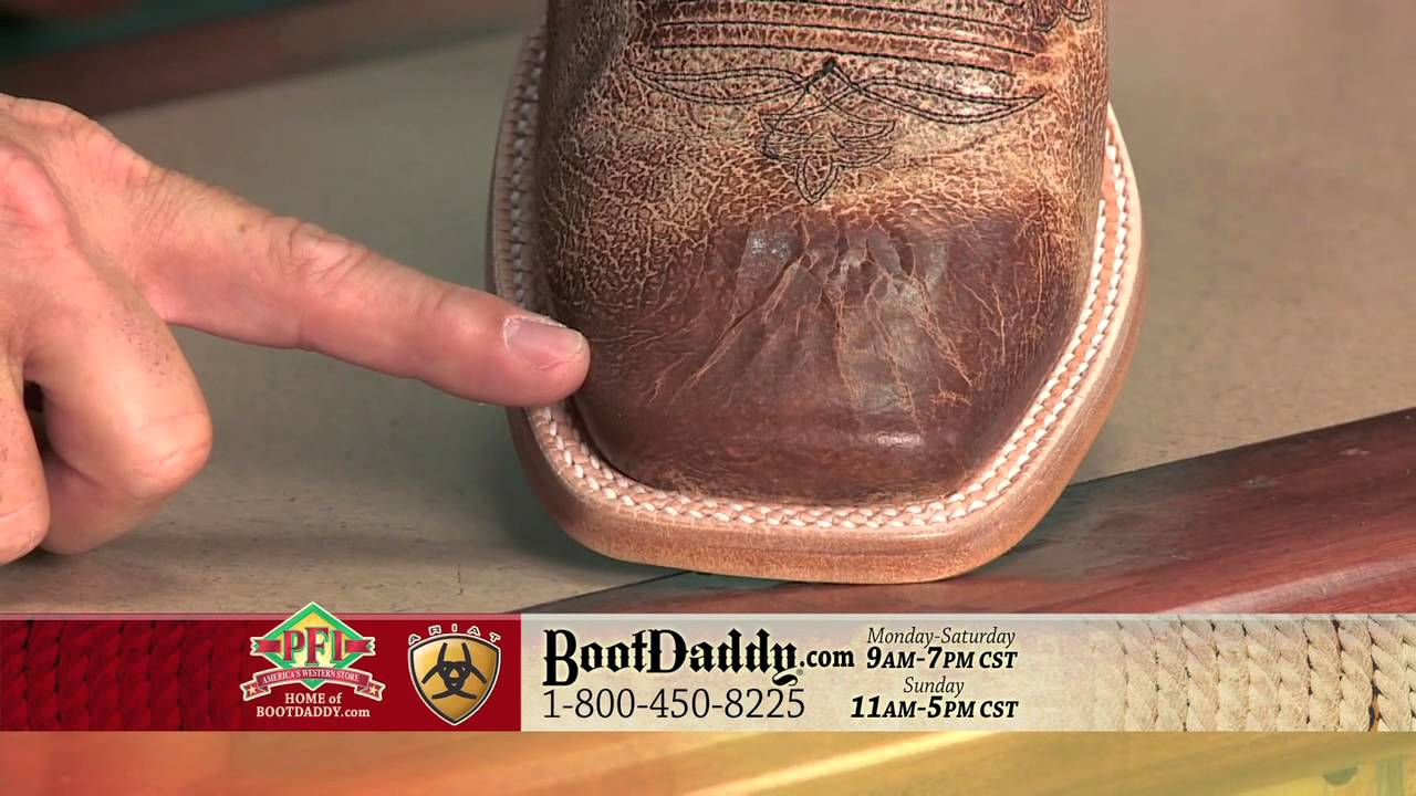 Review of Ariat Men's Big City Ranchero Square Toe Tan Cowboy ...