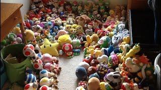 Mario plush collection 2018