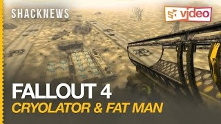 Fallout 4  Cryolator and Fat Man in Action