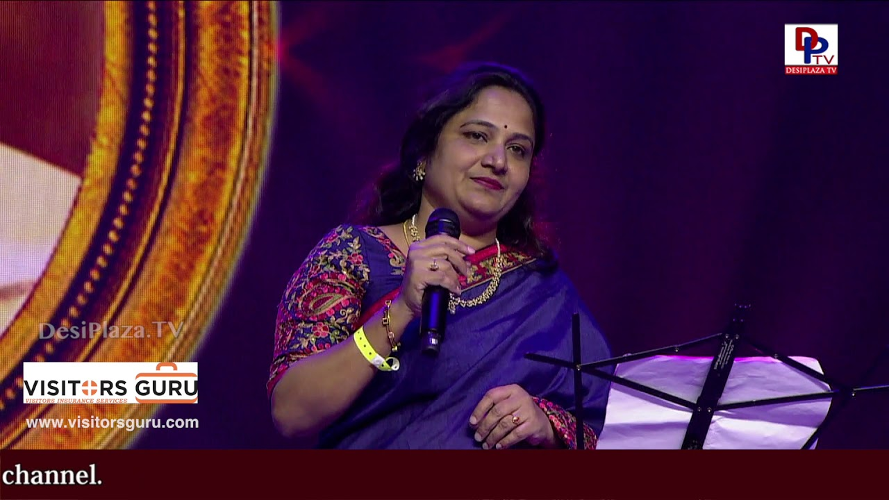 Ghazal singing performance at  WTC World Telangana Convention 2018 organized  (ATA Telangana)
