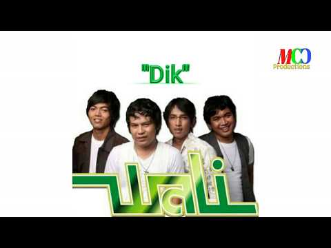 Wali Band - Dik [video lirik] MCC Productions