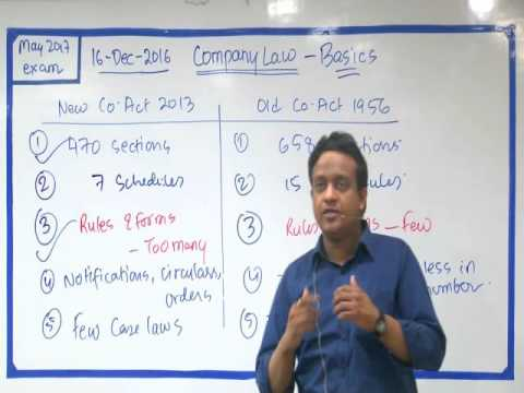 Basics of NEW 2016 Companies Act NCLT