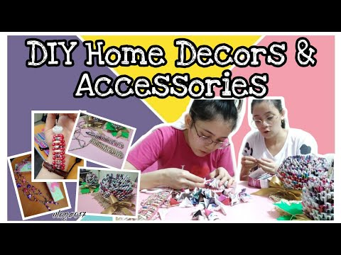 Видео: DIY Home Decors / Accessories | Amazing Magazines!