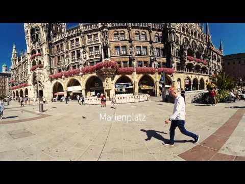 360 Grad VR Video - Sightseeing Tour in München - Kodak Pixpro SP360 4K - VLOG 37
