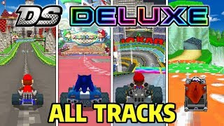 Mario Kart Ds Deluxe - All 32 Custom Tracks (Wii, 7, 8 Deluxe Tracks & More!)