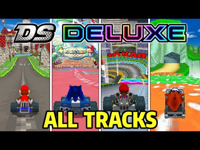 Mario Kart Ds Deluxe Mod Ft Crash Bandicoot By Mega R Games