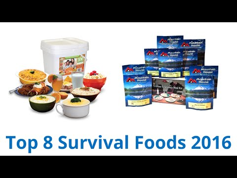8 Best Survival Foods 2016