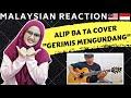 ALIP BA TA GUITAR COVER-GERIMIS MENGUNDANG SLAM | MALAYSIAN REACTION