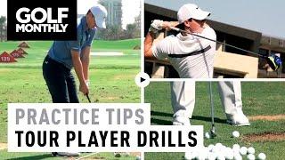 9 Tour Player Practice Drills