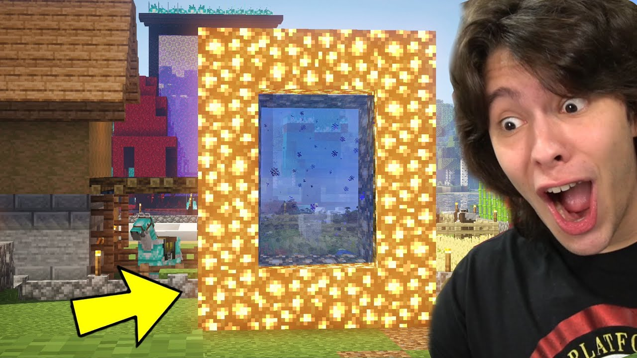 Download CONSTRUÍ UMA PORTAL PARA O AETHER(Céu) NO MINECRAFT!! (Minecraft Survival #14)