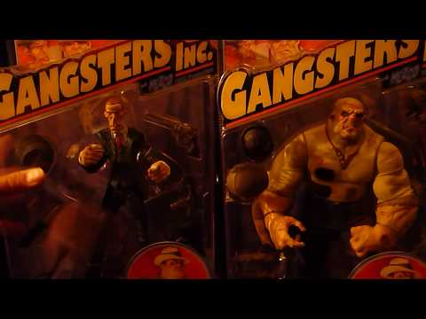Mezco Gangsters Inc. Figures Review Part One of Two 1/2