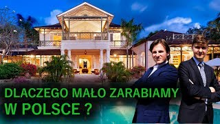 Jak dużo zarabiać w Polsce? Sekret państw Zachodu