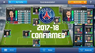 PSG 2017-2018 Dream League Soccer 2017 With 100 power