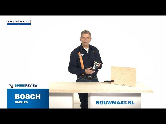 Bosch GMS 120 multidetector Speedreview