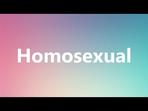 Homosexual definition dictionary