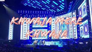 AR Rahman Live In Concert Dubai 2019 - Khwaja Mere Khwaja