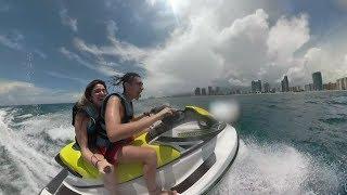 Navegando en Miami