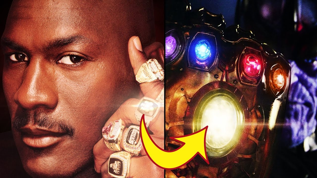 Why MICHAEL JORDANs Rings Are INFINITY STONES This Video Proves It