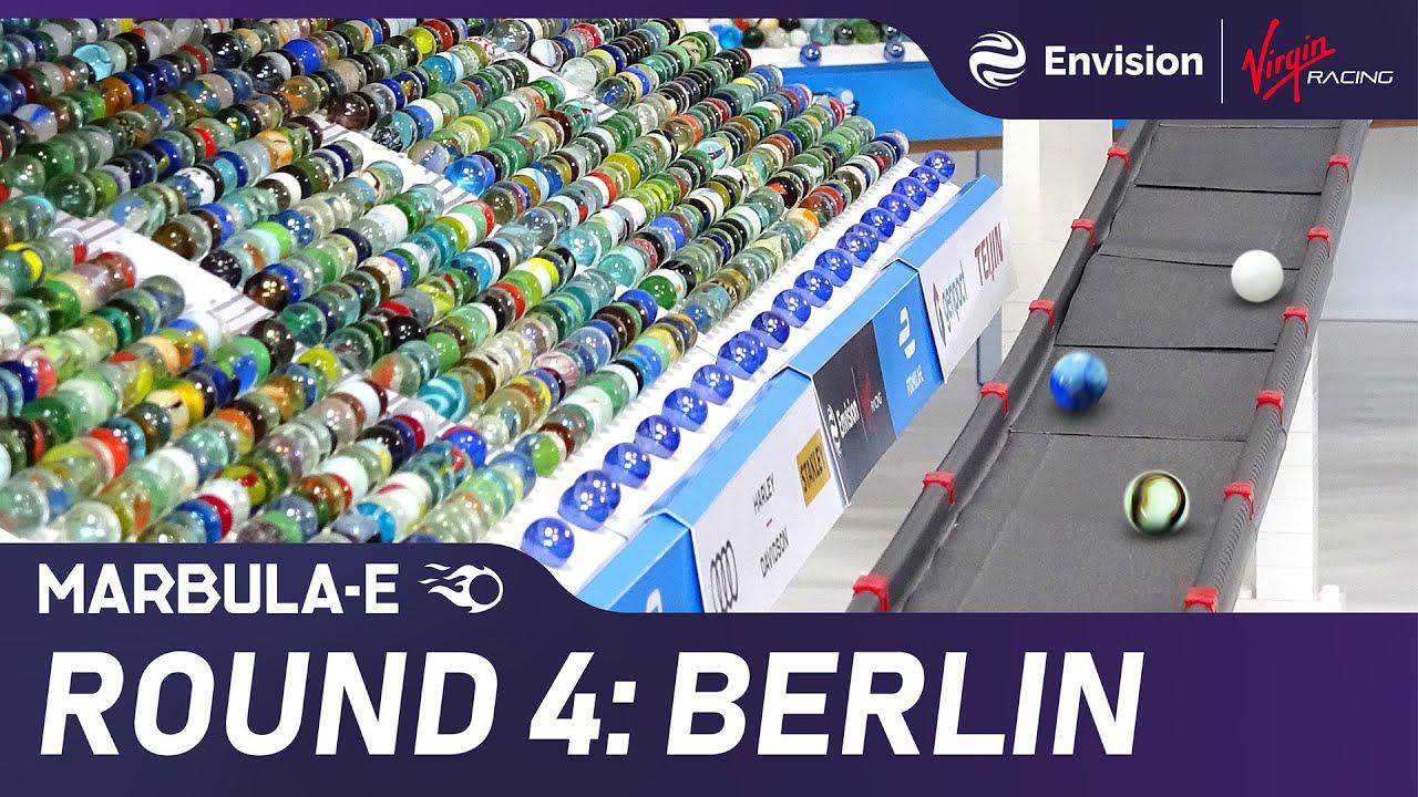"""Marbula E Race 4 """"Berlin"""" - Marble Race by Jelle's Marble Runs & Formula E"""