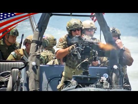 アメリカ&世界の特殊部隊が魅せる!圧巻のデモンストレーション・ショー