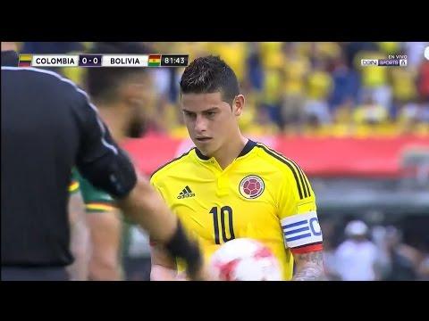 James Rodriguez vs Bolivia HD 720p (23/03/2017) by V10 Comps