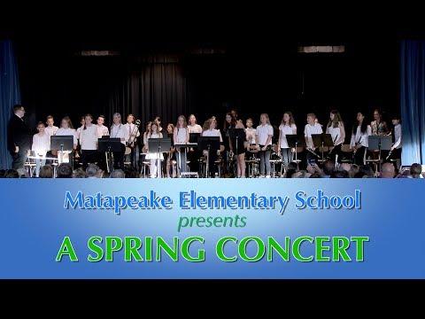 Matapeake Elementary School Spring Concert May 9 2019