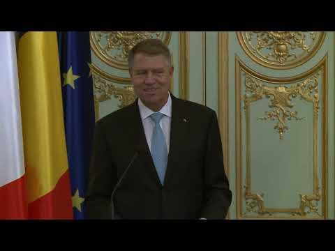 Alocuțiunea lui Klaus Iohannis la sediul Ambasadei Romaniei din Paris