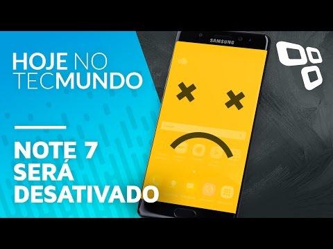 Note 7 será desativado - Hoje no TecMundo