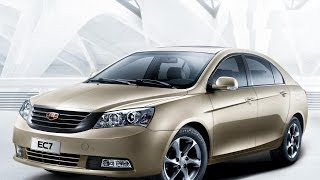 Geely Emgrand 2012 седан