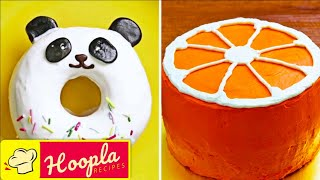 Quick Cake Decorating Ideas | Most Satisfying Cake Decorating Ideas for Everyone | Hoopla Recipes
