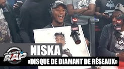 Niska reçoit le disque de diamant de Réseaux #PlanèteRap